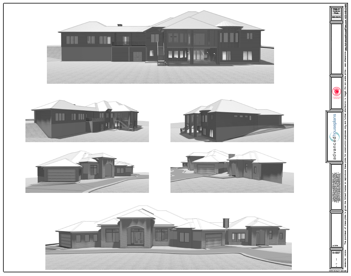 Custom Home Design And Drafting Advanced House Plans